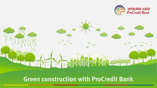 ProCredit Bank publishes newsletter on successful practices in green offices